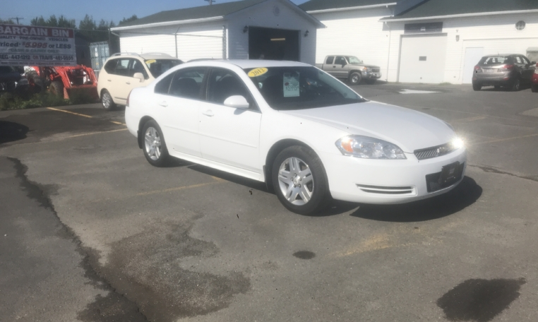2012 Chevrolet Impala LT, V6, automatic, air, power windows/locks, power driver seat, Aux port, CD player, key-less entry, cruise, inspected until September 2020 and more. $5,995.00 Contact Greg at East Coast Wheels 1(506) 447-1212.