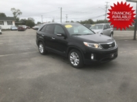 2015 Kia Sorento EX, 99,000 km's, V6, automatic, AWD, power windows/locks, power drivers seat, heated seats front and back, Infotainment with back-up camera, leather, panoramic sunroof, Bluetooth, USB, aux port, alloy wheels, new 2 year M.V.I and more. $13,995.00 with financing available on approved credit. Contact Greg at East Coast Wheels 1(506) 447-1212.