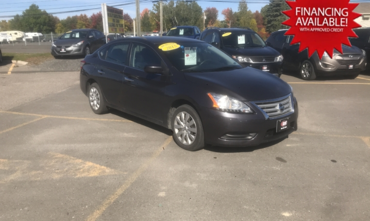 2015 Nissan Sentra, 68,000 km's, automatic, Bluetooth, USB, Aux port, power windows/locks, key-less entry, air, cruise, inspected until October 2022 and more. $9,995.00 financing available on approved credit. Contact Greg at East Coast Wheels 1(506) 447-1212.