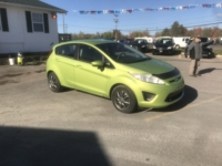 2011 Ford Fiesta, 110,649 km's, 5 speed manual, air, heated seats, power windows/locks, Aux port, heated seats, inspected until August 1 2022. $3,995.00. Contact Greg at East Coast Wheels 1(506) 447-1212.