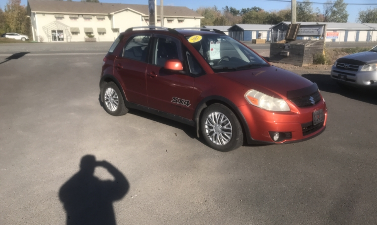 2007 Suzuki SX4, 175,000 km's, 4 cyl, automatic, AWD, power windows and locks, CD player, air, inspected until June 2022 and more. $4,995.00 Contact Greg at East Coast Wheels 1(506) 447-1212.