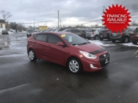 2015 Hyundai Accent, 114,000 km's, 4 cyl, 6 speed manual, air, cruise, key-less entry, heated seats, Bluetooth, USB, Aux port, power windows and locks, two sets of wheels and tires, sunroof, inspected until June 2022 and more. $7,995.00 with financing available on approved credit. Contact Greg at East Coast Wheels 1(506) 447-1212.