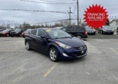 2013 Hyundai Elantra, 157,000 km's, 4 cyl, automatic, air, cruise, heated seats, Bluetooth, USB, Aux port, key-less entry, sunroof, power windows and locks, alloy wheels, inspected until June 2022 and more. $5,995.00 with financing available on approved credit. Contact Travis at East Coast Wheels 1(506) 461-9555.