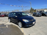 2007 Toyota Matrix, 270,000 km's, 4 cyl, automatic, air, cruise, key-less entry, power locks, alloy wheels, inspected until November 2022 and more. $2,950.00 As traded special. Contact Travis at East Coast Wheels 1(506) 461-9555.