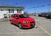2015 Chevrolet Sonic, 176,000 km's, 4 cyl, 5 speed, CD player with Aux port, Bluetooth, air, power locks, key-less entry, inspected until September 2022 and more. $5,995.00 Contact Travis at East Coast Wheels 1(506) 461-9555.