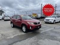 2014 Kia Sorento GDI, 159,000 km's, 4 cyl, AWD, automatic, air, heated seats, cruise, power windows and locks, Bluetooth, USB, Aux port, key-less entry, rear window screens, inspected until January 2023 and more. $10,900.00 with financing available on approved credit. Contact Greg at East Coast Wheels 1(506) 447-1212.