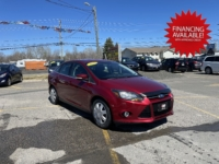 2013 Ford Focus Titanium, 114,000 km's, 4 cyl, automatic, air, power windows and locks, key-less entry, USB, Bluetooth, Aux port, key-less entry, Sony Stereo with sub woofer, heated seats, inspected until April 2023 and more. $7,995.00 with financing available on approved credit. Contact Travis at East Coast Wheels 1(506)461-9555.