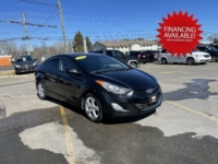 2013 Hyundai Elantra, 114,000 km's, 4 cyl, automatic, air, cruise, heated seats, CD player, Bluetooth, USB, Aux port, alloy wheels, power windows and locks, sunroof, inspected until February 2023 and more. $7,995.00 with financing available on approved credit. Contact Greg at East Coast Wheels 1(506) 447-1212.