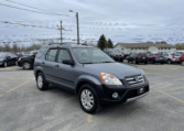 2006 Honda CR-V, 227,000 km's, 4 cyl, automatic, AWD, air, power windows/locks, cruise, air, alloy wheels, key-less entry, inspected until August 2022 and more. $4,995.00 Contact Greg at East Coast Wheels 1(506) 447-1212.