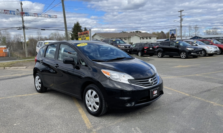 2014 Nissan Versa Note, 212,000 km's, 4 cyl, automatic, air, cruise, CD player, Bluetooth, Aux port, power windows and locks, key-less entry, inspected until December 2022 and more. $5,995.00 Contact Travis at East Coast Wheels 1(506) 461-9555.