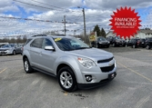 2013 Chevrolet Equinox, 122,000 km's, 4 cyl, automatic, 2WD, power windows/locks, cruise, infotainment, Aux port, Bluetooth, new 2 year M.V.I and more. $9,995.00 with financing available on approved credit. Contact Greg at East Coast Wheels 1(506) 447-1212.