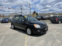 2010 Kia Rondo EX, 191,000 km's, 4 cyl, automatic, air, cruise, CD player, Bluetooth, USB, Aux port, heated seats, key-less entry, alloy wheels, power windows and locks, inspected until May 2023 and more. $4,995.00 Contact Greg at East Coast Wheels 1(506) 447-1212.