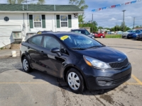 2014 Kia Rio EX, 164,000 Km's, 4 cyl, 6 speed manual, air, cruise, CD player, Bluetooth, power windows and locks, key-less entry, heated front seats, USB, AUX port, inspected until July 2023, and more. $5,995.00 Contact Greg at East Coast Wheels 1(506) 447-1212.