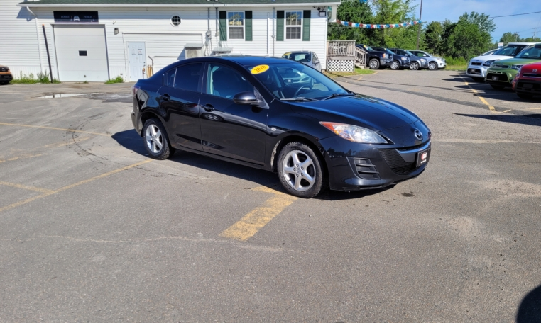2010 Mazda 3, 186,000 km's, 4 cyl, automatic, air, CD player, power windows and locks, key-less entry, AUX port, alloy wheels, inspected until September 2022, and more. $4,995.00 Contact Travis at East Coast Wheels 1 (506) 461-9555.