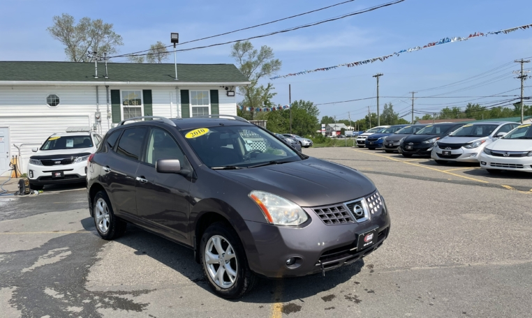 2010 Nissan Rouge SL, 137,000 km's, 4 cyl, automatic, AWD, air, cruise, heated front seats, key-less entry, CD player, AUX port, sunroof, alloy wheels, power windows and locks, inspected until December 2022 and more. $6,995.00 Contact Travis at East Coast Wheels 1(506) 461-9555.