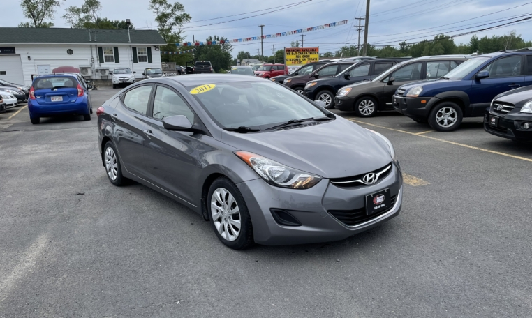 2011 Hyundai Elantra, 101,000 km's, 4 cyl, automatic, air, cruise, power windows and locks, key-less entry, CD player, Bluetooth, AUX port, USB, heated front seats, inspected until May 2022, and more. $5,995.00 Contact Travis at East Coast Wheels 1(506) 461-9555.