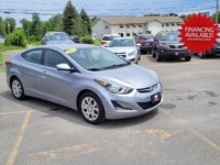 2015 Hyundai Elantra, 130,000 km's, 4 cyl, automatic, air, cruise, heated front seats, CD player, Bluetooth, USB, AUX port, power windows and locks, key-less entry, inspected until September 2022, and more. $8,995.00 with financing available on approved credit. Contact Travis at East Coast Wheels 1(506) 461-9555.