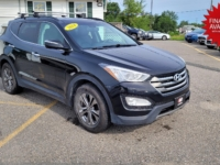 2014 Hyundai Santa Fe, 161,000 km's, 4 cyl, AWD, automatic, air, cruise, CD player, Bluetooth, USB, AUX port, key-less entry, sunroof, heated front and rear leather seats, alloy wheels, roof rack, inspected until November 2022, and more. $11,900.00 with financing available on approved credit. Contact Travis at East Coast Wheels 1(506) 461-9555.