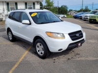 2009 Hyundai Santa Fe, 183,000 km's, V6, FWD, cruise, air, power windows and locks, key-less entry, heated front seats, CD player, inspected until June 2022, and more. $5,995.00 Contact Greg at East Coast Wheels 1(506) 447-1212.