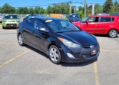 2013 Hyundai Elantra, 199,000 km's, 4 cyl, automatic, air, cruise, CD player, heated front and rear seats, USB, AUX port, power windows and locks, sunroof, remote start, alloy wheels, inspected until April 2023, and more. $5,995.00 Contact Greg at East Coast Wheels 1(506) 447-1212.
