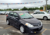 2010 Nissan Versa, 159,000 km's, 4 cyl, automatic, air, power windows and locks, CD player, AUX port, inspected until March 2022, and more. $3,995.00 Taxes included as traded special. Contact Greg at East Coast Wheels 1(506) 447-1212.