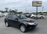 2011 Subaru Forester, 145,000 km's, 4 cyl, automatic, air, cruise, Bluetooth, AUX port, heated seats, alloy wheels, power windows and locks, key-less entry, inspected until December 2022, and more. $9,995.00 Contact Greg at East Coast Wheels 1(506) 447-1212