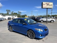 2010 Toyota Corolla S, 186,000 km's, 4 cyl, 6 speed manual, air, cruise, CD player, AUX port, power windows and locks, key-less entry, alloy wheels, Bluetooth, inspected until May 2022, and more. $6,995.00 Contact Greg at East Coast Wheels 1(506) 447-1212.
