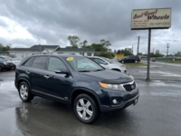 2013 Kia Sorento EX, 206,000 km's, V6, AWD, automatic, air, power windows and locks, key-less entry, cruise, CD player, AUX port, Bluetooth, back-up camera, two-tone heated leather, alloy wheels, inspected until December 2022 and more. $7,995.00 Contact Greg at East Coast Wheels 1(506)447-1212.