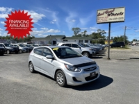 2013 Hyundai Accent, 155,000 km's, 4 cyl, automatic, air, cruise, heated seats, key-less entry, CD player, Bluetooth, AUX port, power windows and locks, inspected until September 2022 and more. $6,995.00 with financing available on approved credit. Contact Travis at East Coast Wheels 1(506) 461-9555.