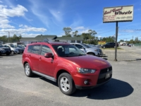 2010 Mitsubishi Outlander, 241,000 km's, V6, 4X4, automatic, air, cruise, heated seats, 7 passenger, Cd player, Bluetooth, CD player, AUX port, factory sub woofer, sunroof, alloy wheels, power windows and locks, key-less entry, factory remote start, inspected until August 2023 and more. $5,995.00 Contact Travis at East Coast Wheels 1(506) 461-9555.