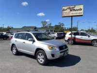 2009 Toyota Rav 4, 103,000 km's, 4 cyl, AWD, automatic, air, cruise, CD player, AUX port, power windows and locks, new M.V.I and more. $9,995.00 Contact Greg at East Coast Wheels 1(506) 447-1212.