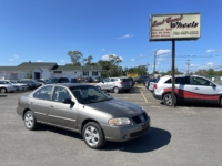 2004 Nissan Sentra, 149,000 km's, 4 cyl, automatic, air, CD player, AUX port, super clean, inspected until April 2022 and more. $1,900.00 As traded special. Contact Travis at East Coast Wheels 1(506) 461-9555.