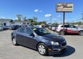 2015 Chevrolet Cruze, 191,000 km's, 4 cyl, automatic, air, cruise, power windows and locks, CD player, AUX port, Bluetooth, key-less entry, inspected until September 2022 and more. $5,995.00 Contact Travis at East Coast Wheels 1(506) 461-9555.